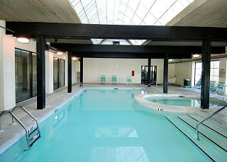 Indoor Pool at Bluewater Condos for Sale