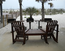 Condos for Sale in Sun Chase Gulf Shores grilling area