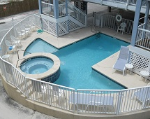 Sun Chase Condos Gulf Shores swimming pool