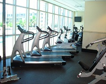 Crystal Tower Condos Fitness Room