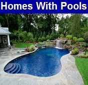 Homes for sale in Gulf Shores with swimming pools.