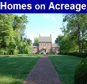 Looking for homes for sale in Foley with acreage?