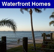 Waterfront homes for sale in Gulf Shores Alabama on the Gulf of Mexico, bayfront homes, and river front properties.