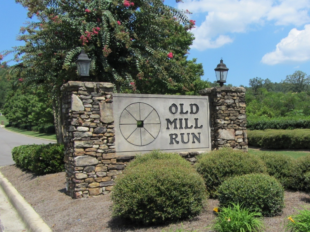 Old Mill Run Trussville, AL