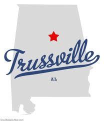 Trussville AL Map