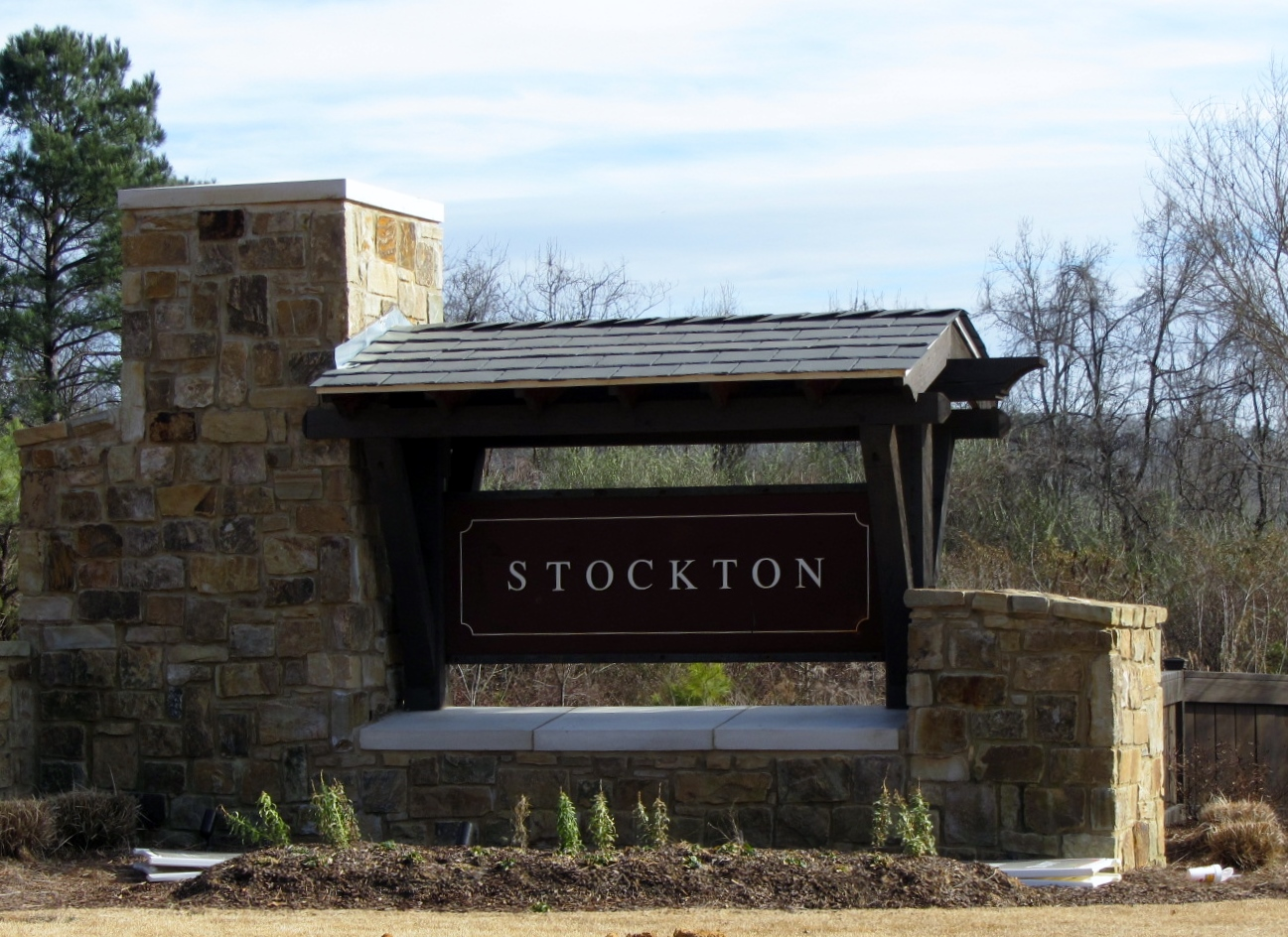 Stockton Entrance off Hwy 11
